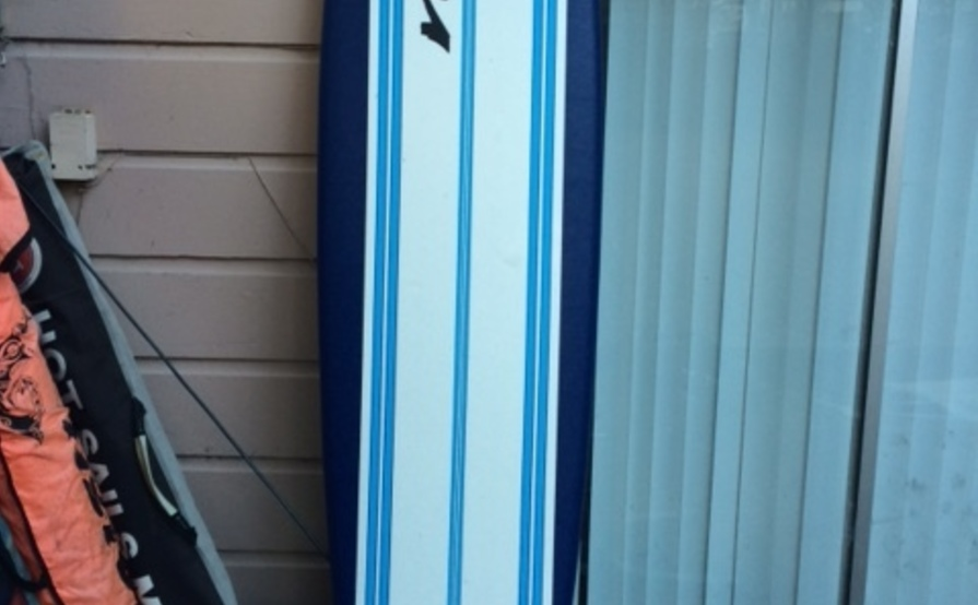 Surfboard 8' softtop wavestorm