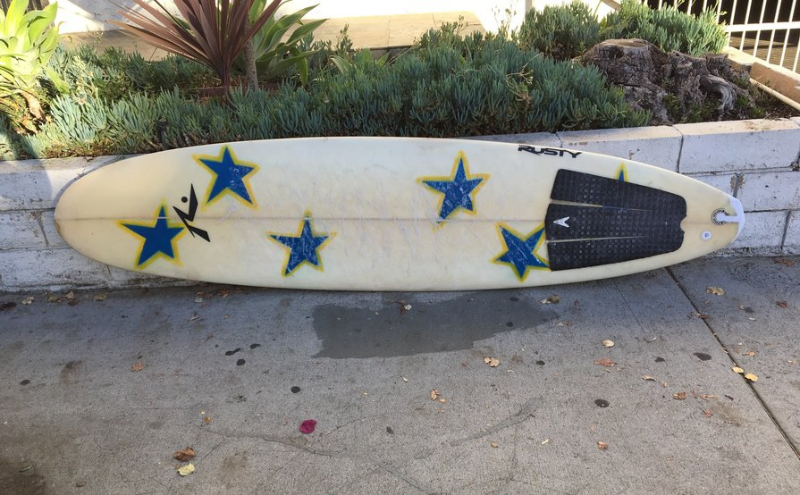 "Rusty 7'6"" Hybrid Surfboard"