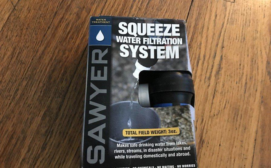 Lightweight Water Filter System