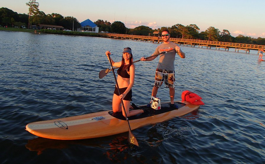 Three Brother boards Double Up Tandem SUP
