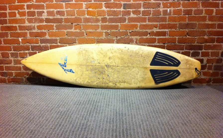 "6' - 6"" Rusty Shortboard"
