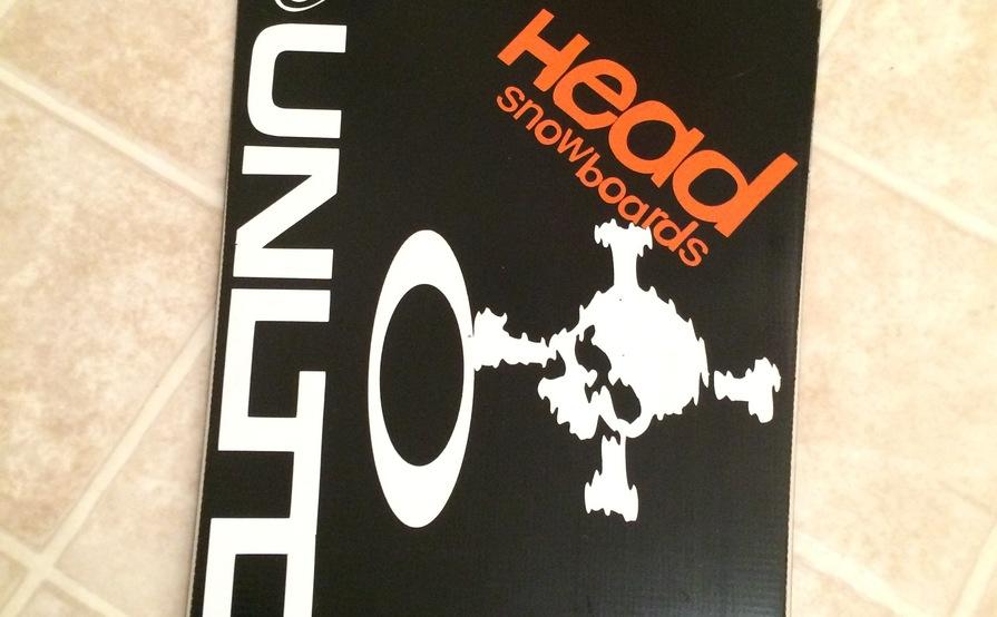 Head Intelligence i.CT Freeride Snowboard 162cm