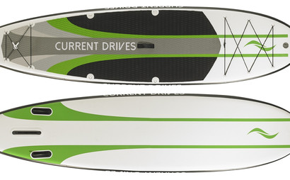ALL-PURPOSE INFLATABLE STAND UP PADDLE BOARD BIG ENOUGH FOR 2 PEOPLE