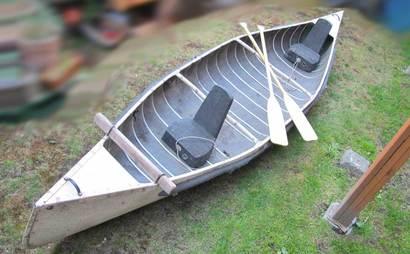 Sportspal aluminum canoe