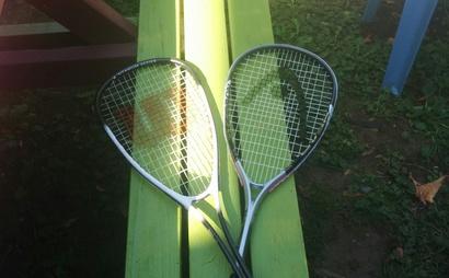 Squash racket (Wilson, head)