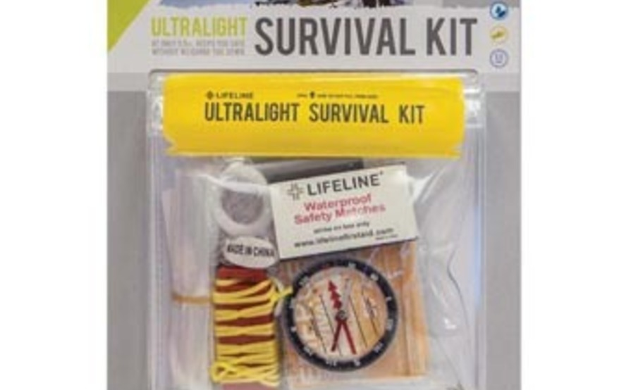Essentials: First Aid, Survival Kit, Head Lamp, and Emergency Blanket