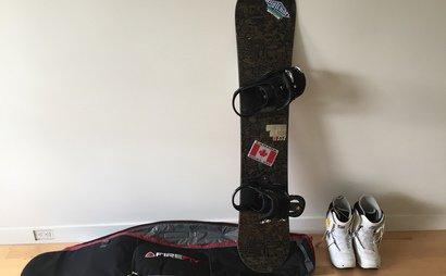 Burton Clash 151 Snowboard