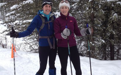 Cross Country skis, boots and poles